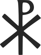 The Chi-Ro is an early abbreviation for Jesus