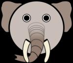 1326828922369109886Circle Elephant Head.svg.med