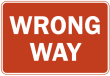 """things we get wrong"" normal_US_street_sign_wrong_way.png"