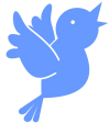 covfefe [Screen Shot & edit of] Social-Media-Blue-Bird-Icons